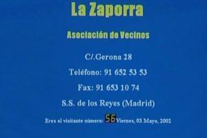 Pasó en Sanse: La Asociación de Vecinos La Zaporra tiene nueva página web
