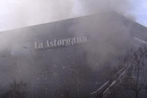 Pasó en Sanse: La Astorgana sufre un incendio