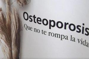Pasó en Sanse: Campaña preventiva sobre osteoporosis