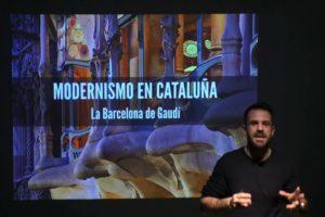 La Barcelona de Gaudí en los Martes del Arte