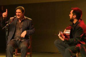 "El cantaor Rafael Jiménez ""Falo"" deja huella en la Cátedra de Flamenco de Sanse"