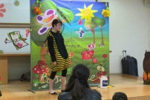 """Cuentacuentos infantiles en inglés y mucha imaginación con """"Face 2 Face Theatre Company"""""""