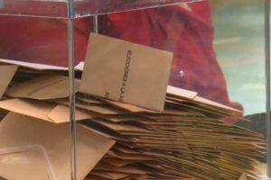 Y llegó el cierre de los colegios electorales en una jornada sin incidencias en Sanse