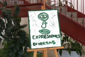 """La exposición """"Expresiones diversas"""" recoge el trabajo de los artistas de APADIS"""