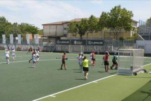 La Selección Española Femenina de hockey jugó en Sanse para preparar los juegos Olímpicos de Tokio