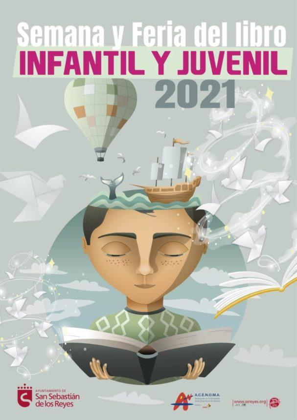 Cartel de la Feria del libro 2021