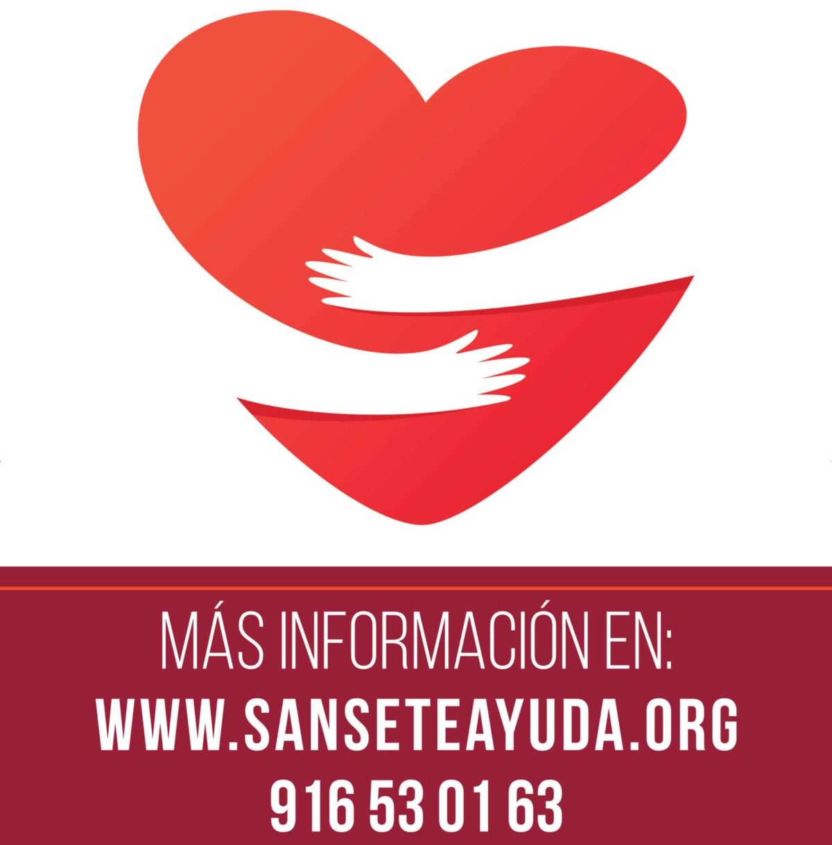Logo de la campaña Sanse_te_ayuda