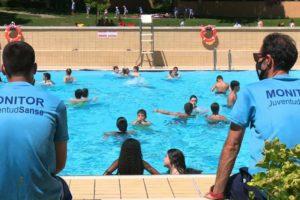 Los campus deportivos dan inicio a un verano inolvidable con el retorno de las piscinas