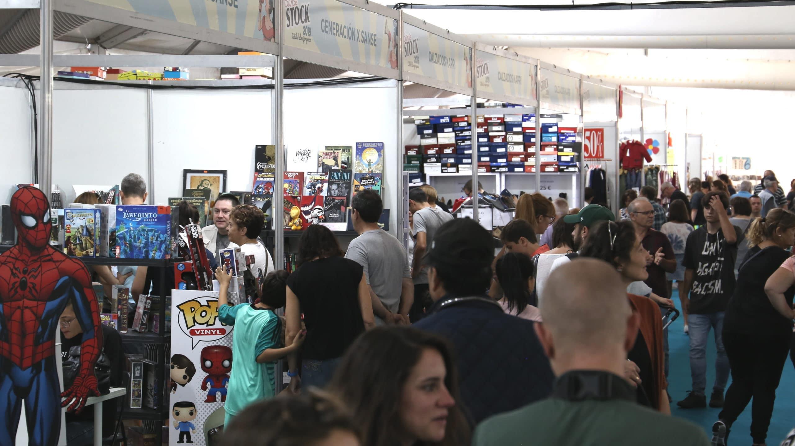 Feria SANSESTOCK de 2019.
