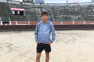 Diego García, el joven novillero de Sanse en la cima del escalafón taurino