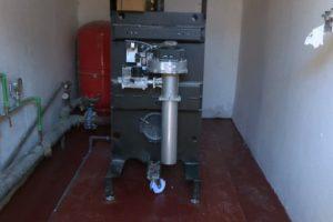La nueva caldera del CEIP San Sebastián es una de las cuatro instalaciones térmicas que se renovarán en los próximos meses