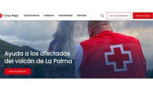 Una cuenta de Cruz Roja para ayudar a La Palma