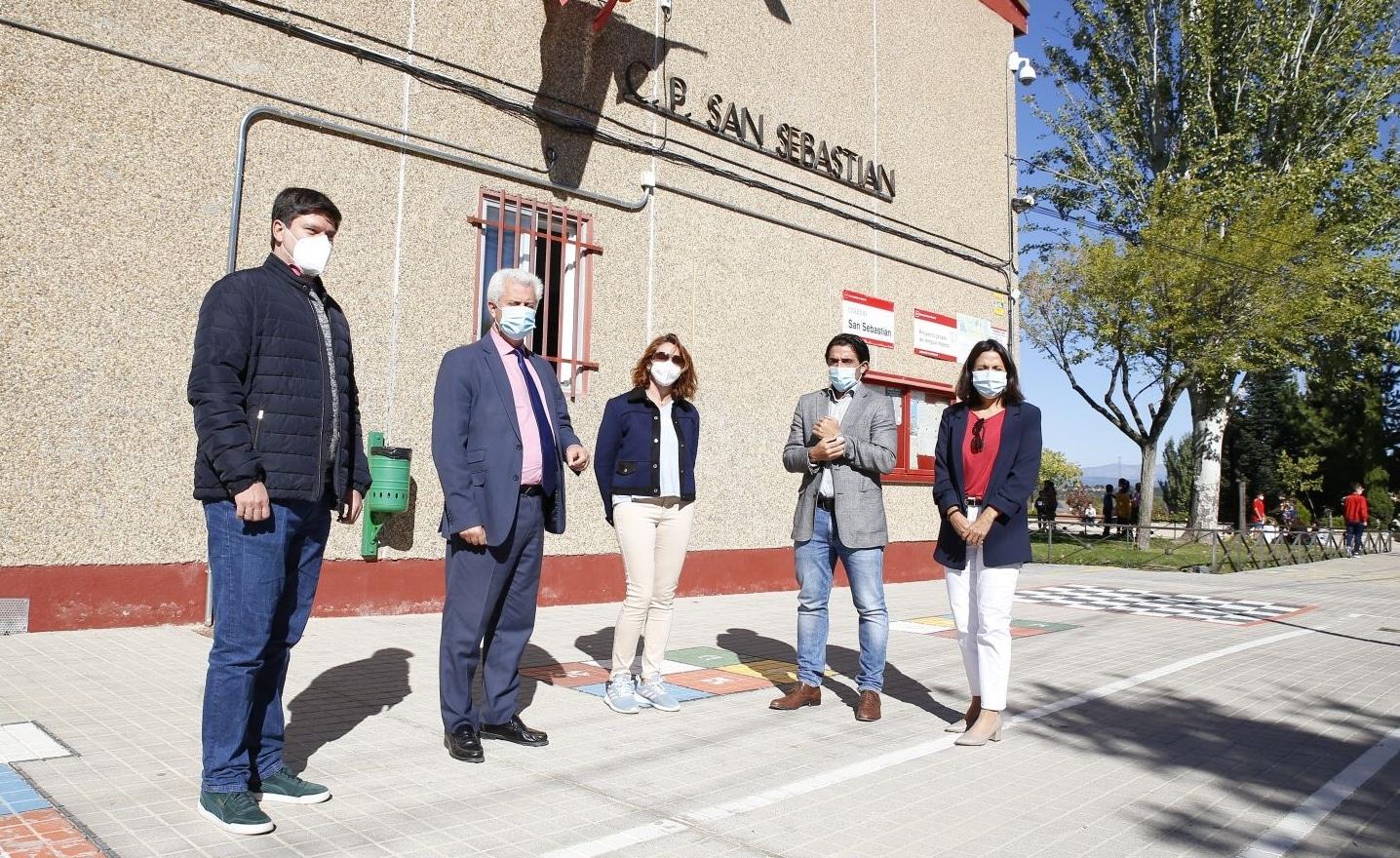 Visita colegio público San Sebastián